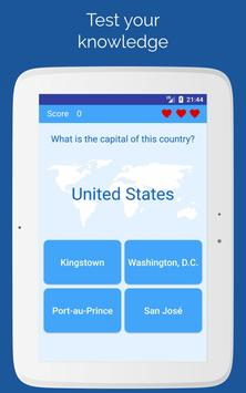 4 Schermata Capitals of the countries - Quiz