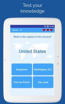 Capitals of the countries - Quiz screenshot 4
