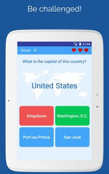 5 Schermata Capitals of the countries - Quiz