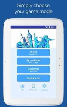 Capitals of the countries - Quiz screenshot 7