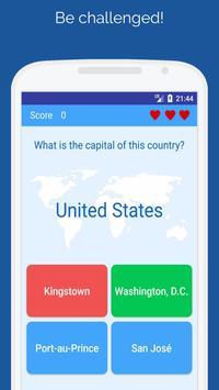 Capitals of the countries - Quiz screenshot 1