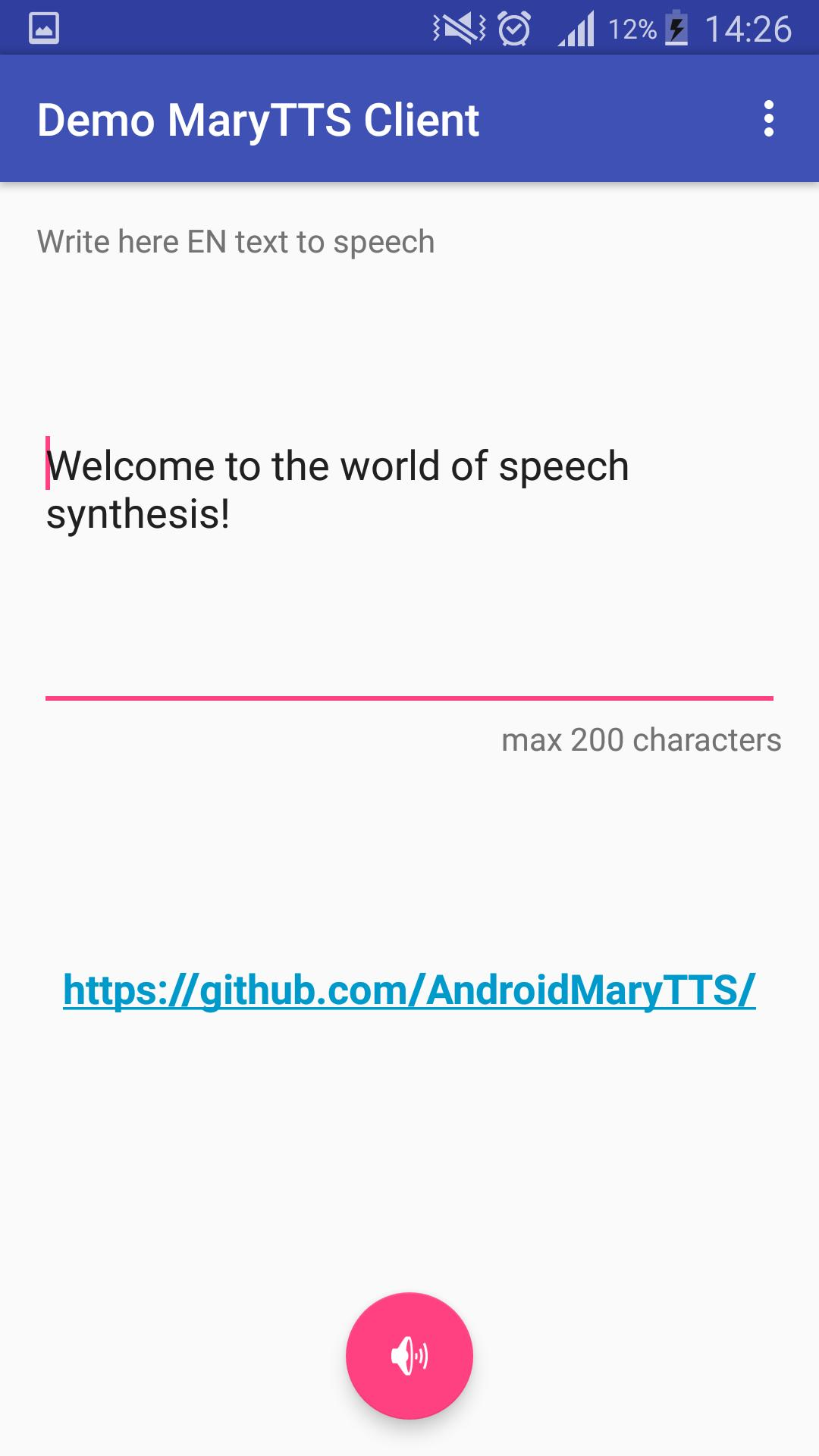 Text To Speech And Speech To Text Android Github