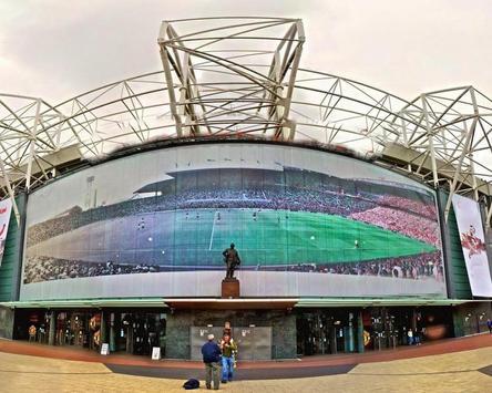 Old Trafford Stadium Wallpaper apk screenshot