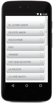 Letras De Alejandro Sanz apk screenshot
