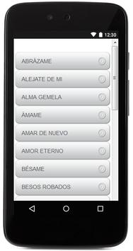 Letras De Camila apk screenshot