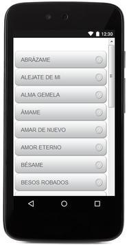 Letras De Camila screenshot 1