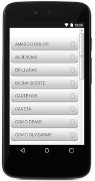 Letras De La Beriso screenshot 1