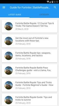 Guide Fortn: Battle-Royale New 2018 poster