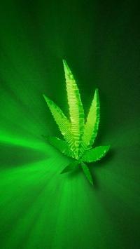Marijuana Live Wallpaper - Green Leaf FREE apk screenshot