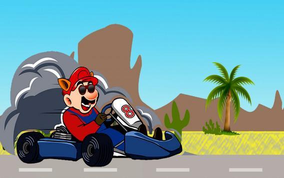 Super Kart Ario poster