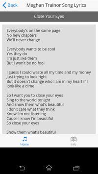 Meghan Trainor Song Lyrics screenshot 4