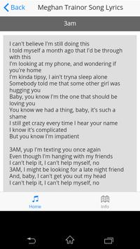 Meghan Trainor Song Lyrics screenshot 9