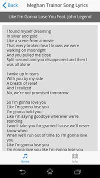 Meghan Trainor Song Lyrics screenshot 15