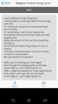 Meghan Trainor Song Lyrics screenshot 3