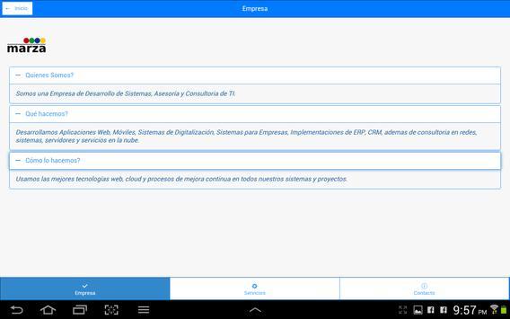 Marza Consulting screenshot 1