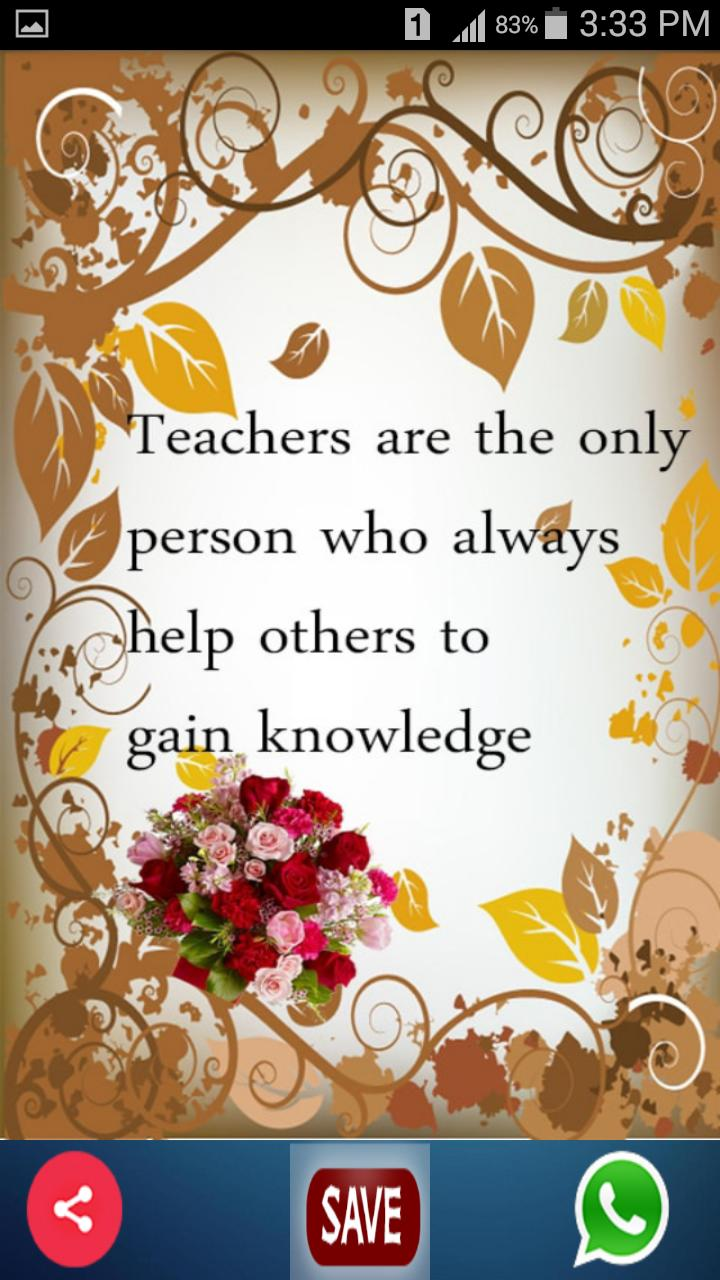 teachers day cards  wishes for android  apk download