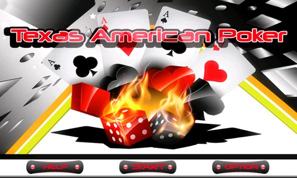 Texas American Poker poster