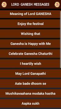 Ganesh Chauth Messages & Cards apk screenshot