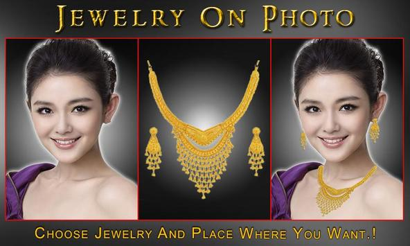 Bridal Jewelry On Photo poster