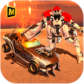Demolition Derby Future Robot Bike Wars icon