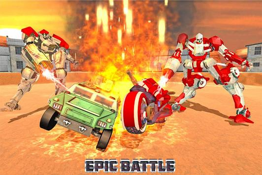 Demolition Derby Future Robot Bike Wars apk screenshot