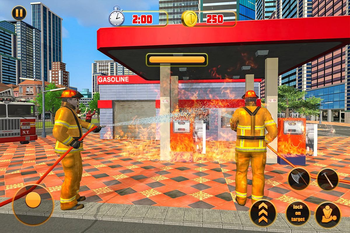 ATV Firefighter Simulator 2018: Quad Bike Rescue for Android - APK