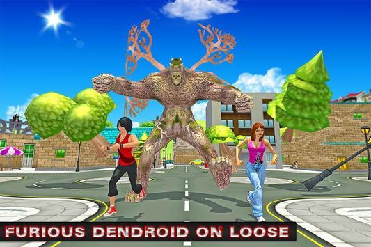 Monster City Attack: Tree Man poster