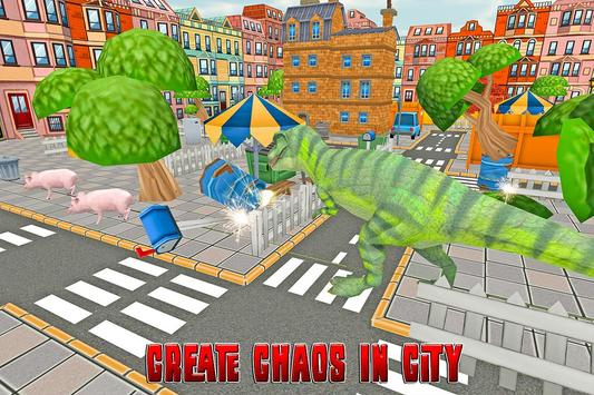 Dinosaur Rampage: City Battle screenshot 4