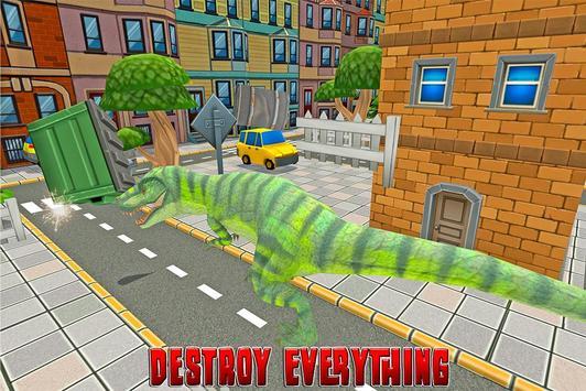 Dinosaur Rampage: City Battle screenshot 7