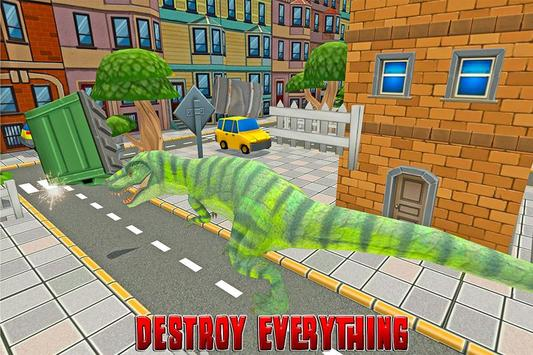 Dinosaur Rampage: City Battle screenshot 2