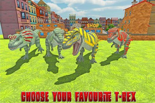 Dinosaur Rampage: City Battle screenshot 3
