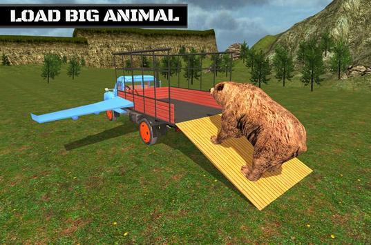 Flying Truck Animal Cargo poster