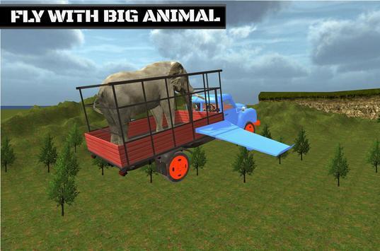 Flying Truck Animal Cargo apk screenshot