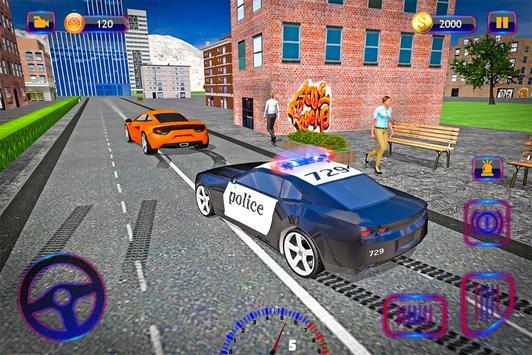 Police Car Chase: Unbeatable apk screenshot