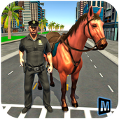Mounted Police Horse Chase icon