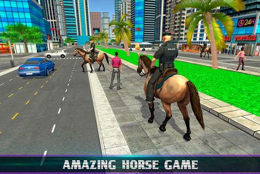 Mounted Police Horse Chase screenshot 3
