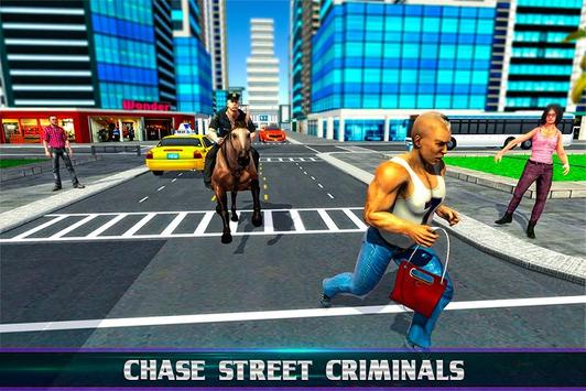 Mounted Police Horse Chase poster