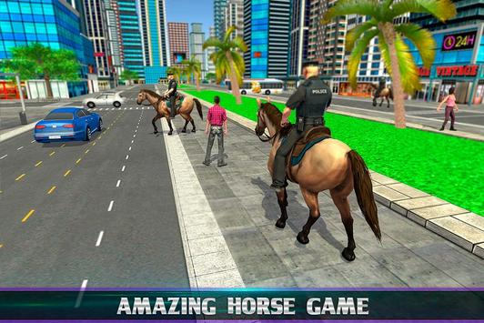 Mounted Police Horse Chase screenshot 13