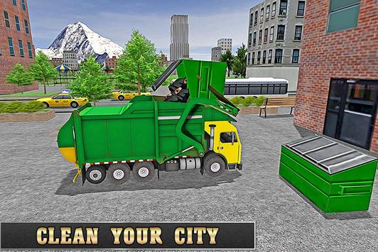 Ultimate Garbage Truck Driver poster