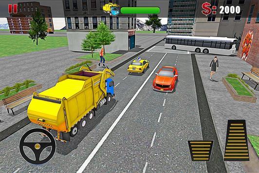 Ultimate Garbage Truck Driver apk screenshot