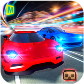 Turbo Traffic Car Racing: VR icon