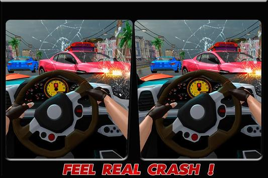 Turbo Traffic Car Racing: VR apk screenshot