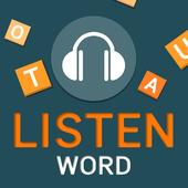 listen word icon