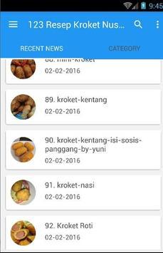 123 Resep Kroket Nusantara poster