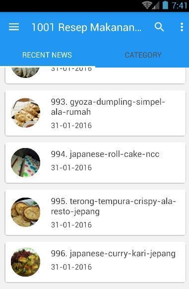 1001 Resep Masakan Jepang poster