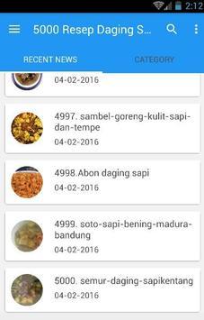 5000 Resep Masakan Sapi Mudah apk screenshot