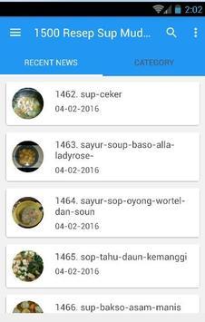 1500 Resep Sup Nusantara Enak poster