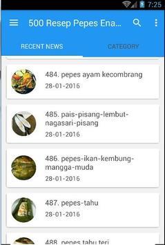 500 Resep Pepes Enak Nusantara screenshot 3