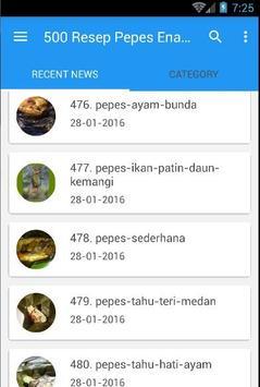 500 Resep Pepes Enak Nusantara screenshot 2