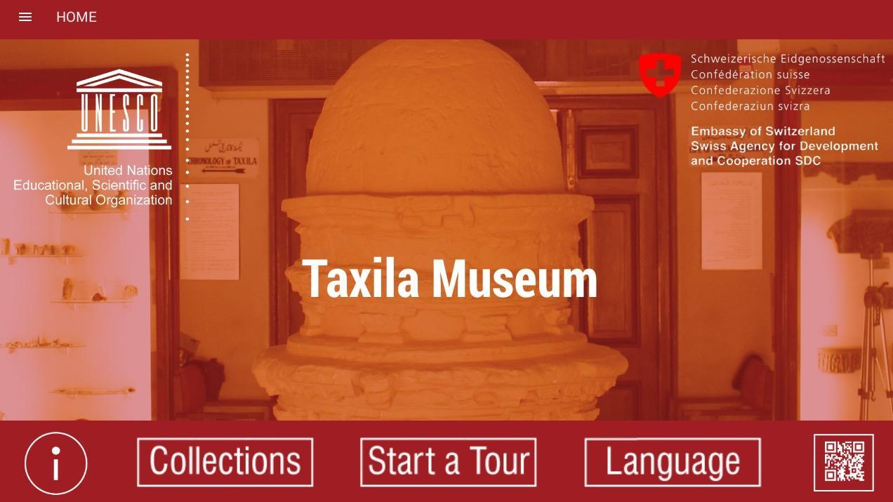 Taxila Museum Application (Kiosk Tablet Version) for Android